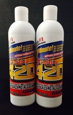 Formula 420 pipe #cleaner - pyrex #metal glass ceramic-12 oz -1 #minute (2 pack)n,  View more on the LINK: 	http://www.zeppy.io/product/gb/2/131378197508/