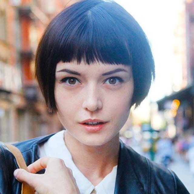 Astounding 1000 Ideas About Short Hairstyles With Bangs On Pinterest Short Hairstyles Gunalazisus