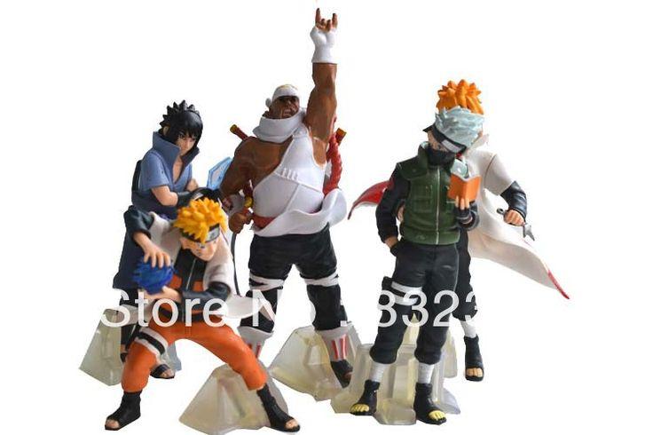Hot Sale Pop Anime Cartoon Naruto Minato Kakashi Toys 5pcs/set action figure Free Shipping //Price: $US $16.90 & FREE Shipping //     #toys