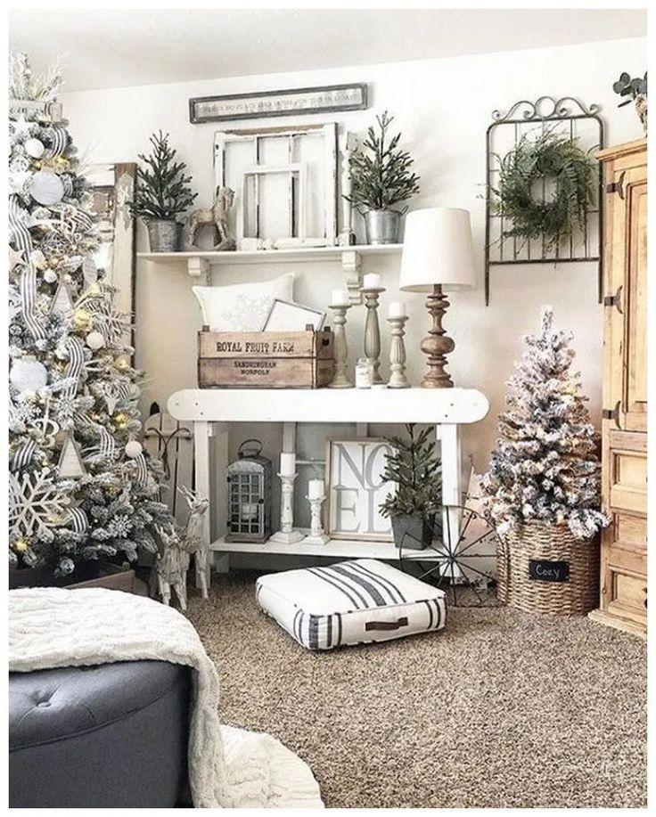 50+ Elegant White Winter Wonderland Themed Decoration
