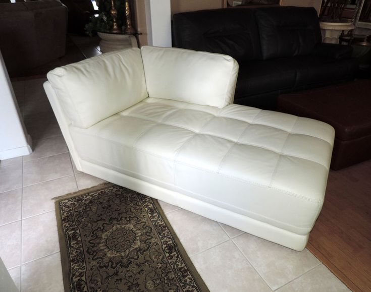 white leather chaise macy s traverso modern white leather chaise lounge we ship 21984 | 33aedc57a357944660b1923d935d3d4f white leather chaise