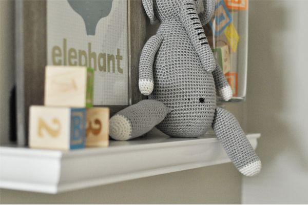 Elephant Themed Nursery  The Nursery - The Small Things Blog: