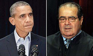 Obama snubs Scalia funeral: President will NOT attend requiem for conservative Supreme Court justice - and White House can't say whether he'll be golfing---What a piece of Sh!!-Is the guilt too much for you Ovomit?