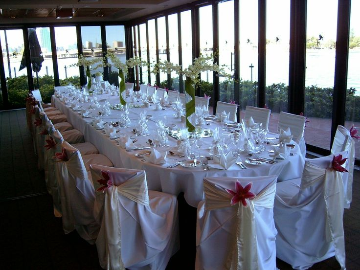 Intimate Wedding in the River Room