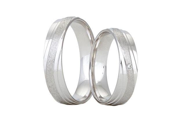 Snubní prsteny - model č. 327/02
