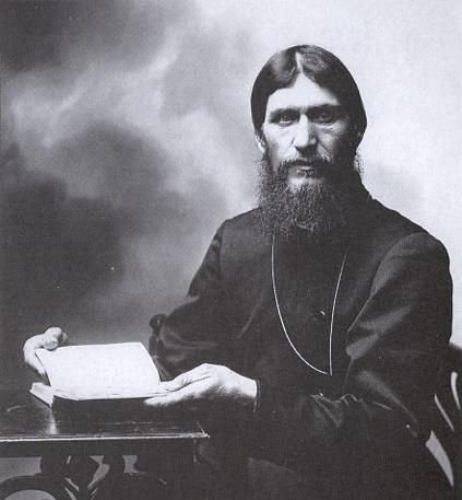 Grigori Rasputin - mystic and advisor to the Romanov family. Later had considerable political and personal influence on Tsar Nicholas II, Tsarina Alexandra and their son Alexei. Stabbed, poisoned with cyanide, shot in the back four times, clubbed and finally drowned...incredible.