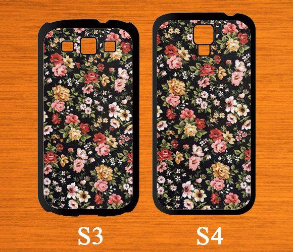 Samsung Galaxy S5 case Flowers case for Samsung Phone by CaseGift