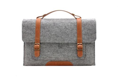 Fabrix Satchel - Wool Felt Collection