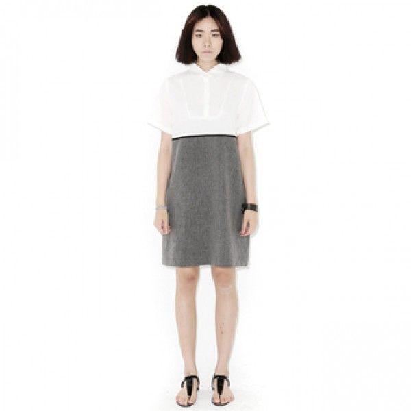 Today's Hot Pick :バストシフォン切り替えワンピース【BLUEPOPS】 http://fashionstylep.com/P0000YLV/ju021026/out 落ち着いた大人の女性をアピールドッキングワンピース。 ブラウスとハイウエストスカートを組み合わせたようなデザインがインパクト大☆ 女子力を上げるパンプスや小物と合わせて、ワンクラス上の着こなしを完成させる一枚です。 ジャケットやカーディガン、ボレロなどの羽織物と合わせるとロングシーズン着られるのもうれしいですね♪ 身長によって着丈感が異なりますので下記の詳細サイズを参考にしてください。 ◆2色: チャコール/グレー