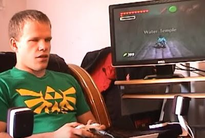 Blind Gamer Spend 5 Years To Completes The Legend of Zelda #Games Technology