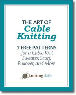 Free eBooks from Knitting Daily Knit Pinterest