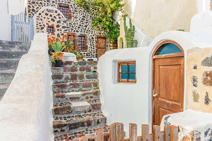 Architektura na Santorini