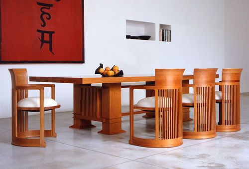 58 best frank loyd wright images on pinterest frank lloyd wright furniture ideas and dining Frank lloyd wright the rooms interiors and decorative arts