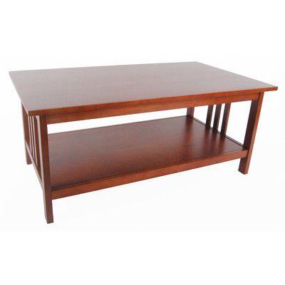 Alaterre Craftsman Coffee Table & Reviews | Wayfair