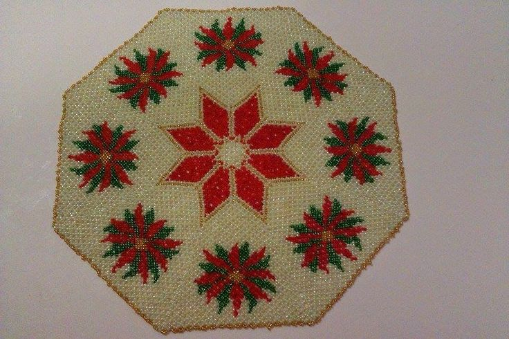 Passione Perline: Centrotavola Stelle di Natale