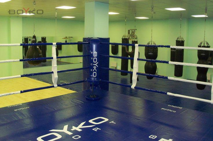 База олимпийского резерва в Москве. Тот самый ринг на котором Руслан Плотников провел 10 спаррингов подряд.  #бойкоспорт #boykosport #бокс #кикбоксинг #mma #мма #дзюдо #самбо