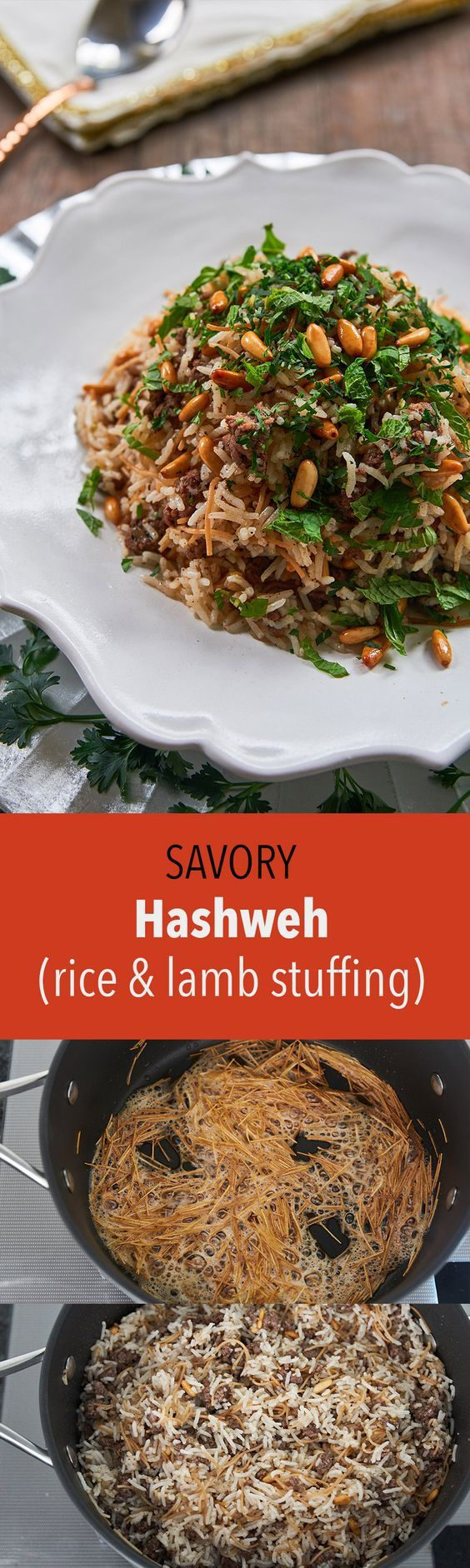 This easy Levantine classic comes together in half an hour and is loaded with ground lamb seasoned with sweet spices such as allspice, cinnamon and nutmeg.