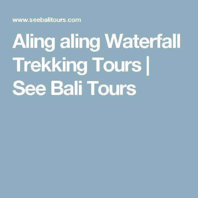 Aling aling Waterfall Trekking Tours | See Bali Tours