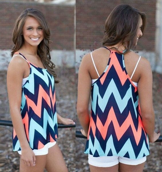 "The perfect tank for weekend fun!   Sizing: S-L  Bust: S-37"", M-39"", L-40"" Length: S-27"", M-29"", L-29"" Hand Wash Cold"