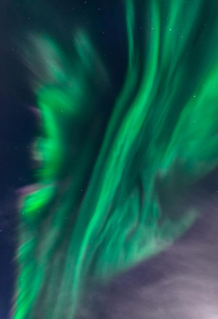 Northern Lights - Stave, Norway by Peter Földiak