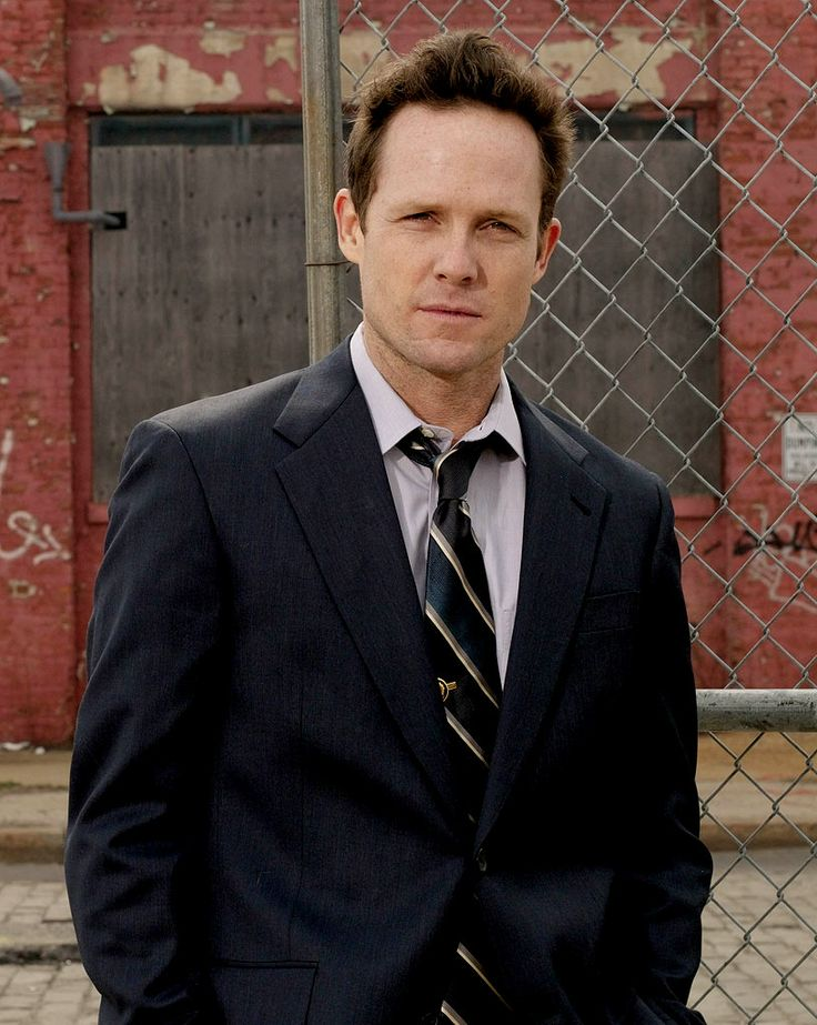 Dean Winters-talented, handsome and helped in my current addiction to OZ :) something about that mischeivious smirk lol