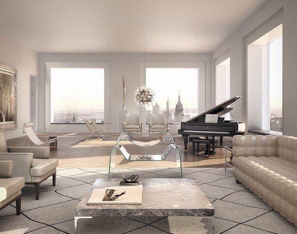 Как выглядит квартира в Нью-Йорке за 95 миллионов долларов - В мире чудес