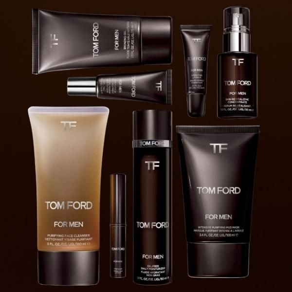 Tom Ford launches makeup, skincare for men