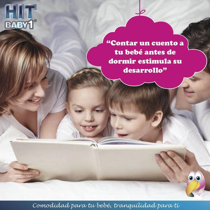 """""""Contar cuentos a tus bebés / niños antes de dormir estimula su desarrollo"""" #bebés #niños #desarrollo #cuentos"""