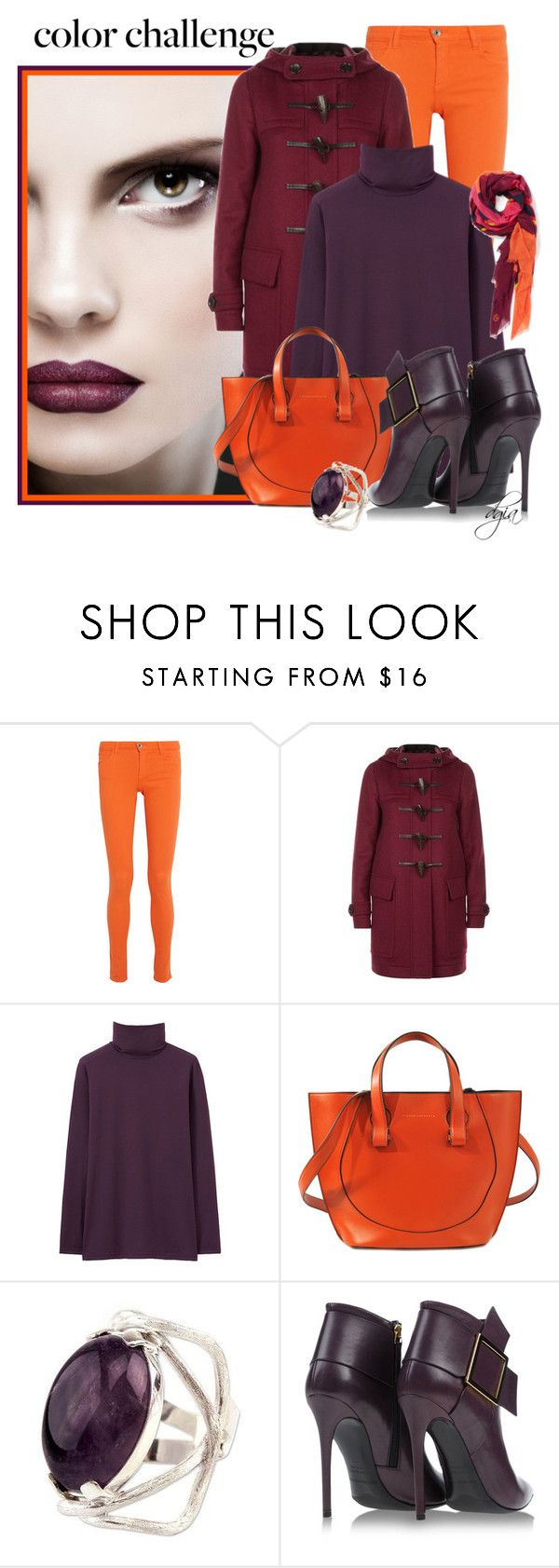 """""""Victoria Beckham Small Tulip tote"""" by dgia ❤ liked on Polyvore featuring Alice + Olivia, Burberry, Uniqlo, Victoria Beckham, NOVICA, Gianmarco Lorenzi and Jonathan Adler"""