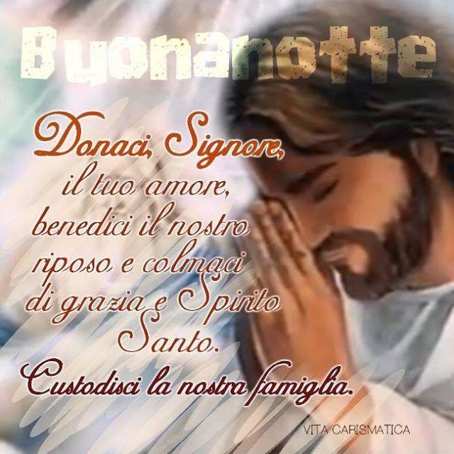 Donaci Signore il Tuo amore benedici il nostro riposo ehellip