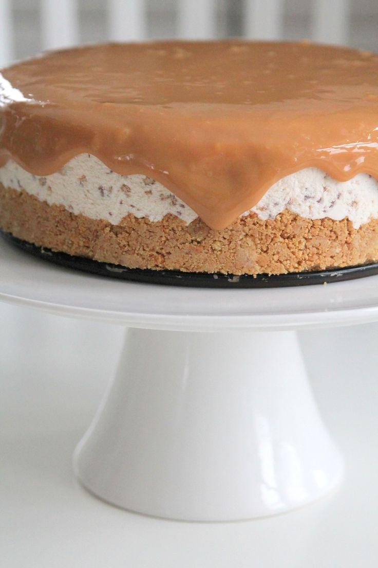 Daimcheesecake med toffeesås | Jennys Matblogg | Damernas Värld