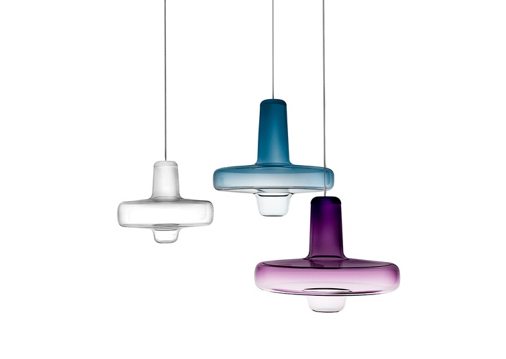 Spin light by Lucie Koldova for Lasvit