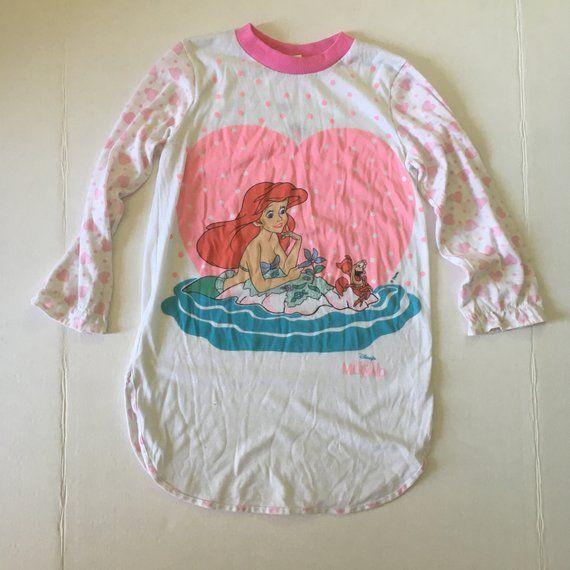Disney Princess Ariel Cinderella girls vibrant blue t-shirt XS-L 4-9y Free Ship