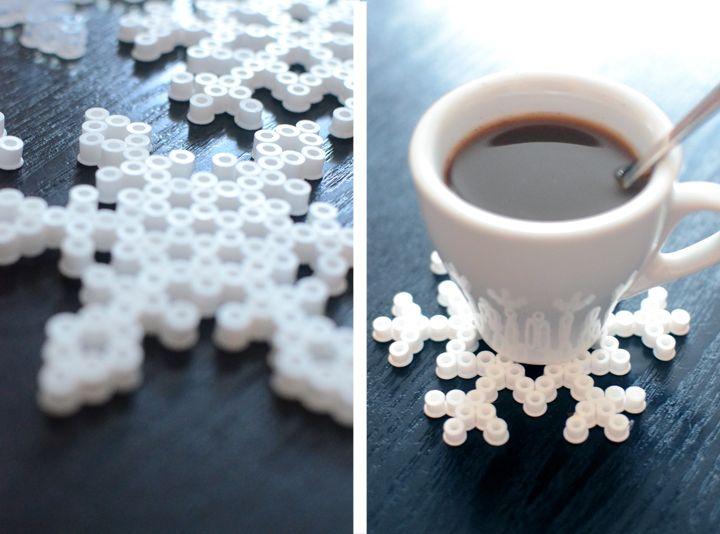 Pärlade snöflingor | Jul hos Helena