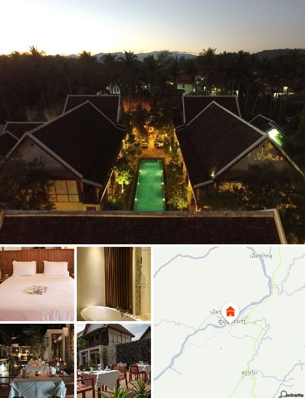 Le Sen Boutique Hotel (Luang Prabang, ラオス)