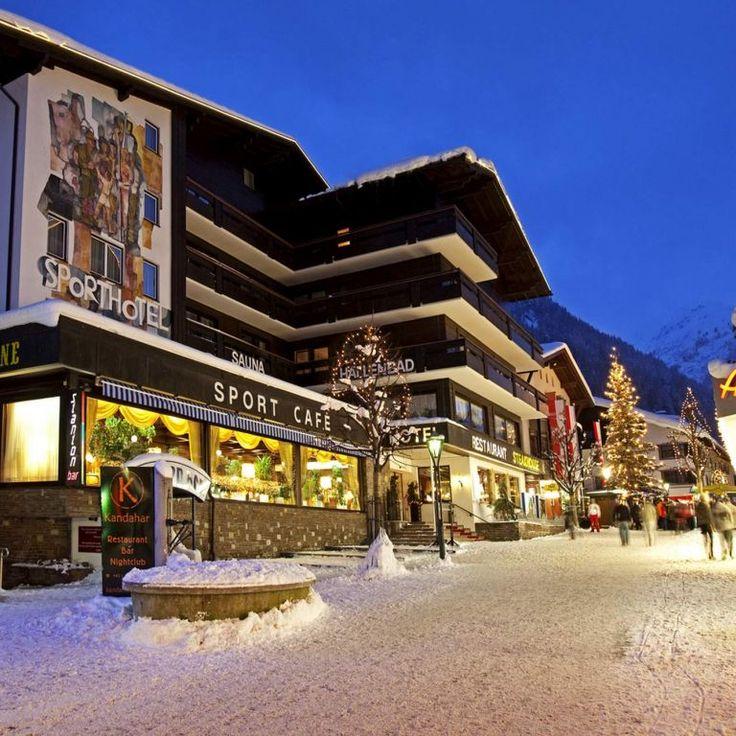 Sporthotel St. Anton im Zentrum von St. Anton am Arlberg.