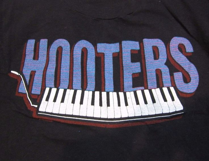 vintage 1986 Hooters Nervous Night Tour T-Shirt L rock new wave concert 80s #ScreenStars #GraphicTee