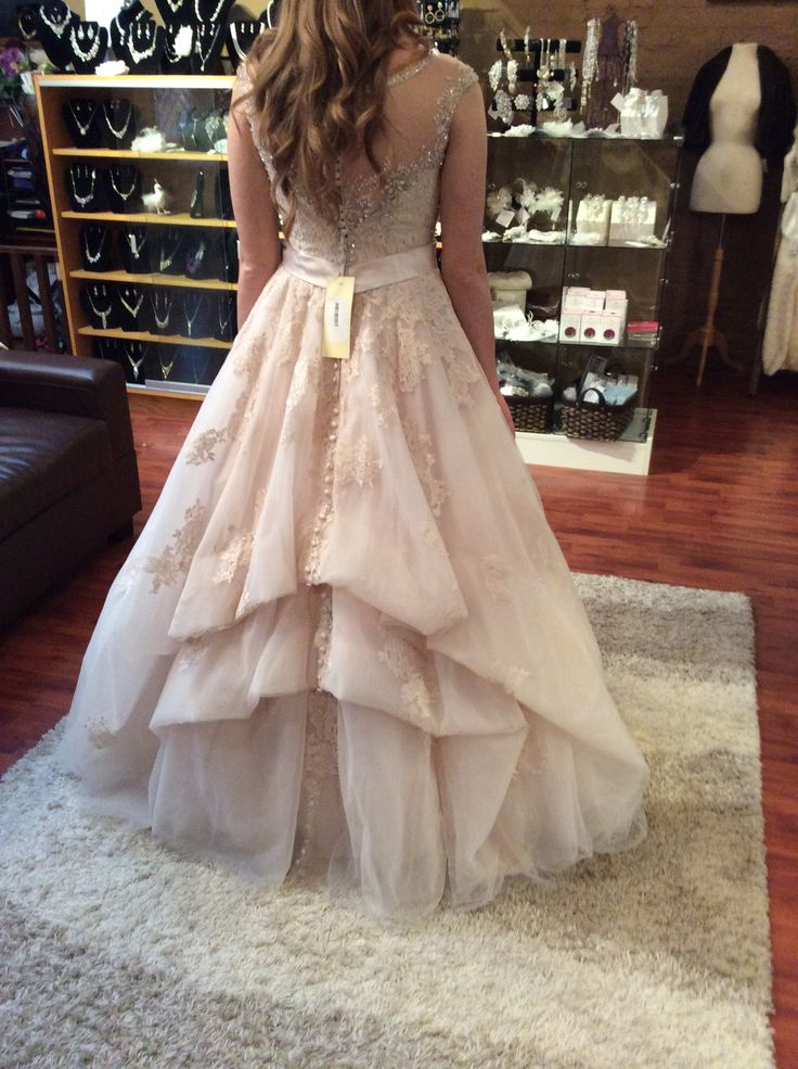 181 Best Wedding Gown Bustle Styles Images On Pinterest