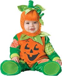 Baby Pumpkin Costume photo