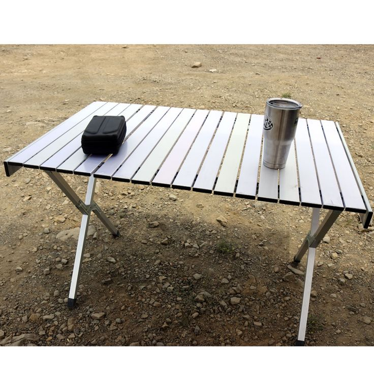 Roll & Fold Aluminum Camping Table - Tuff Stuff® 4x4 | Winches, Off Road Lighting, Overland and Accessories