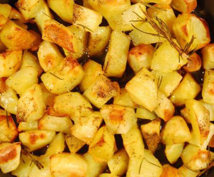 batatas crocantes ao forno