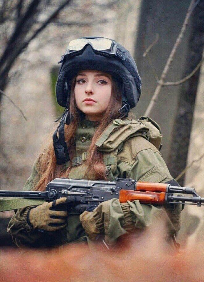 blonde military nude women