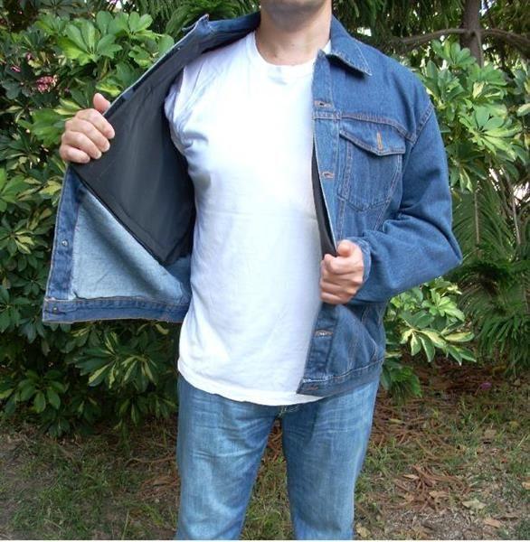 Бронежилет джинсовая куртка