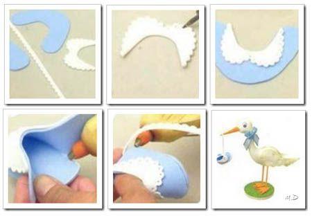 como hacer escarpines zapatitos de bebé de foamy goma eva