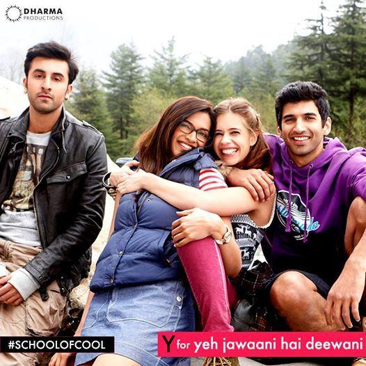 Y for Yeh Jawaani Hai Deewani