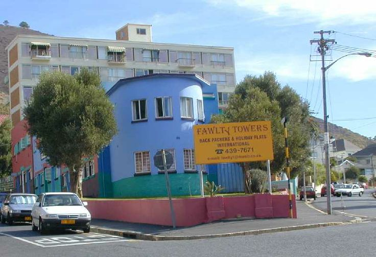 SeaPoint in CapeTown, Fawlty Towers, cute building