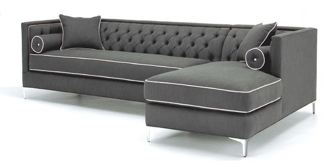 Sectional Sofas - it's hard to find a sectional sofa in a classic style - this fits the bill!