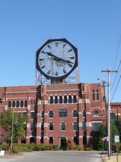 The Colgate Clock - World's Second Largest Clock - Jeffersonville, Indiana (on the Ohio River overlooking Louisville, Kentucky)