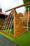 Climbing Wall Pyramid Playground Design