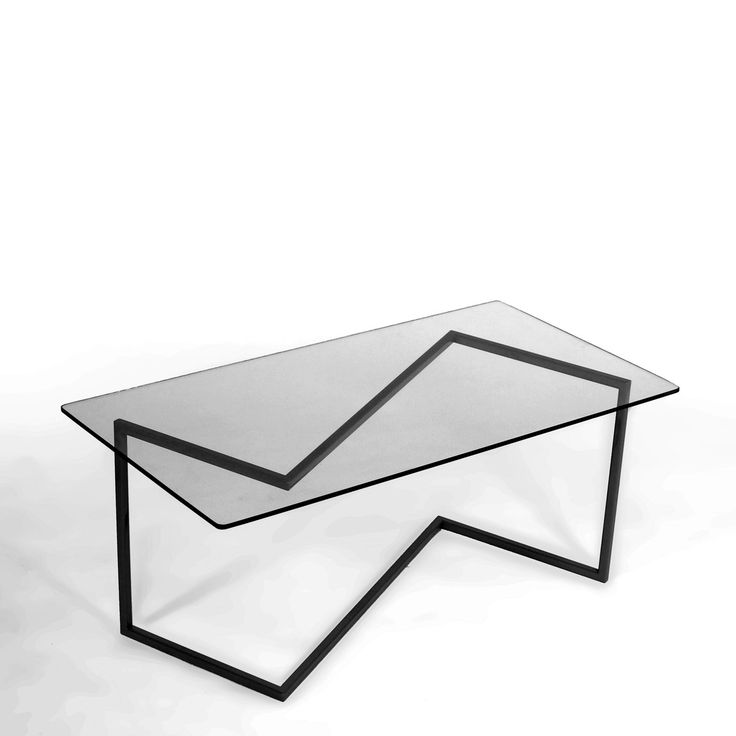 Jink Coffee Table Black  by Miron Lior